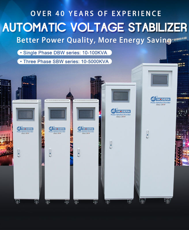Single Phase And Three Phase 10-5000kva AC Automatic Voltage Stabilizer